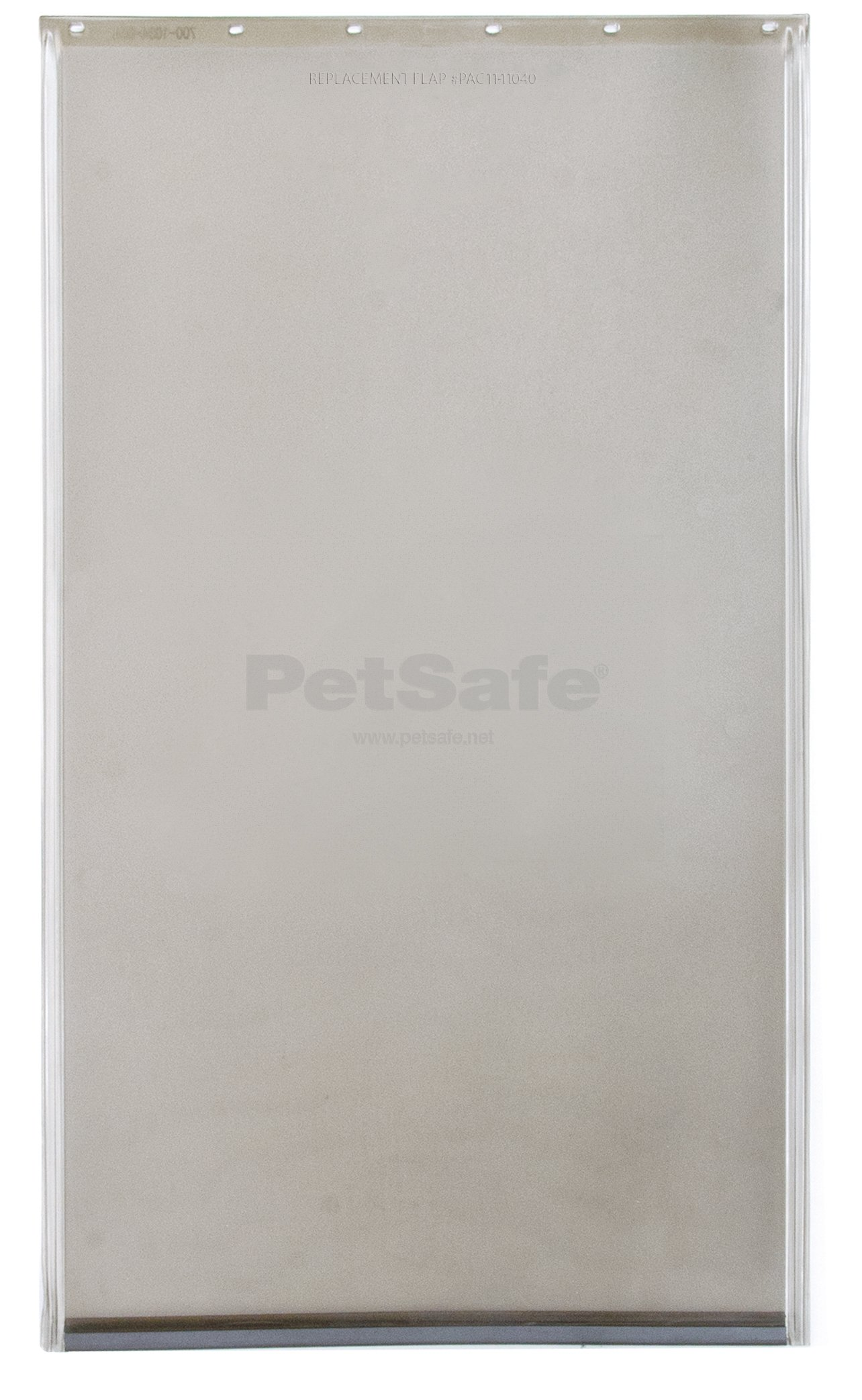 PetSafe Dog and Cat Door Replacement Flap, X-Large, 13 5/8'' x 24 3/8'', PAC11-11040, Tinted Vinyl, Magnetic