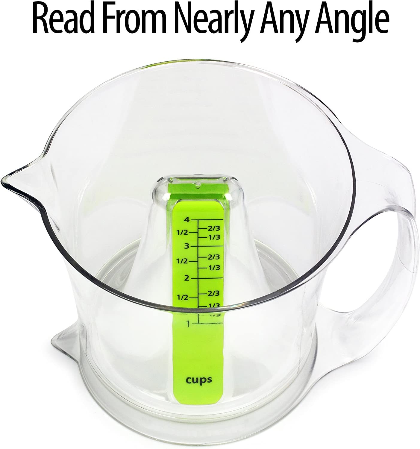 Urban Trend Reverso Primo Measuring Cup And Spoon Set 4 And 1 Cup Patented Easy To Read Design 2 In 1 Measuring Cups When Flipped Over Kitchen Dining Amazon Com