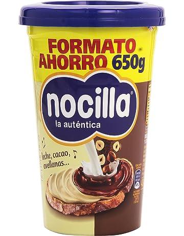 Nocilla - La autentica - Doble crema al cacao y leche con avellanas - 650 g