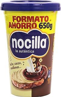 Nocilla La autentica Doble crema al Cacao y Leche con Avellanas - 650 g