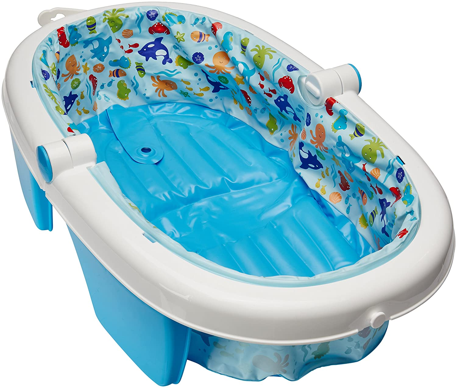 Amazon.com : Summer Infant Fold Away Baby Bath : Baby Bathing Seats ...