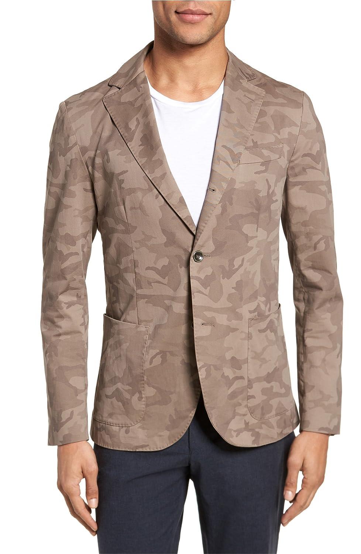 [イレブンティ] メンズ ジャケットブルゾン Eleventy Trim Fit Camo Jacket [並行輸入品] B07B4B8DBQ Medium