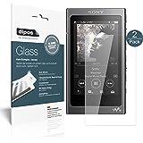 Sony Walkman NW-A35 Pellicola Protettiva - 2x dipos Glass Protezione Vetro Flessibile 9H