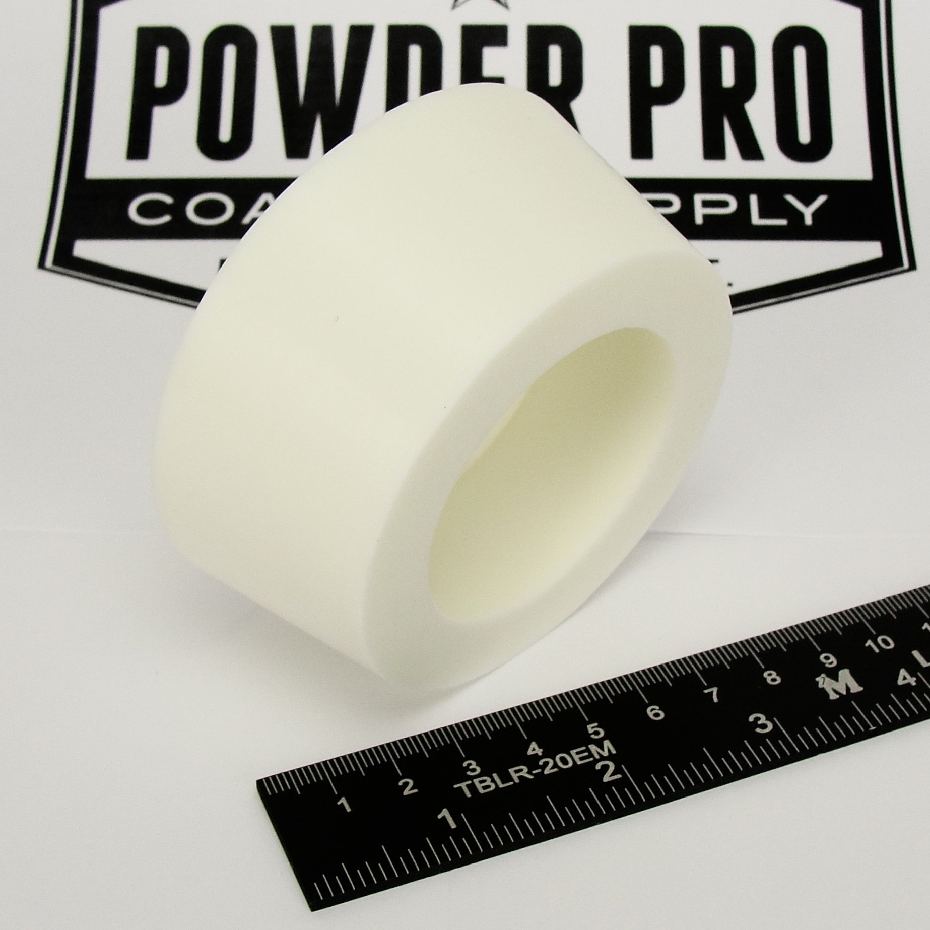 (1) 3'' x 3.5'' #14 High Temp Silicone Rubber Powder Coating Paint Masking Plug - Great for Customizing YETI, RTIC, OZARK Cups and Tumblers