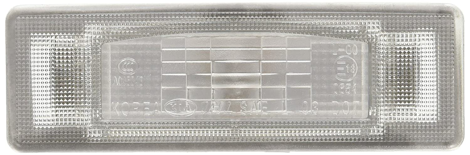 License Plate Lamp Assembly 92501-2G000 Kia Genuine