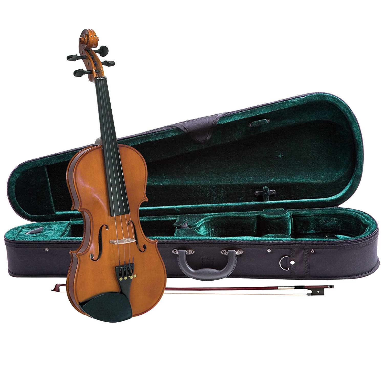 Cremona SV-75 Premier Novice Violin Outfit - 1/2 Size