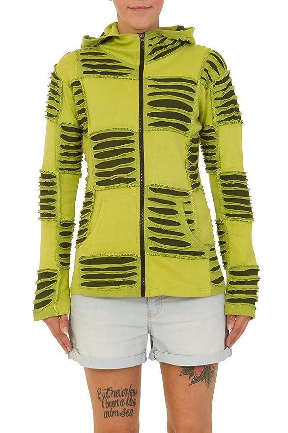 Multicolore Thaiuk Medium Femme Noir Blouson yIvY76gfb