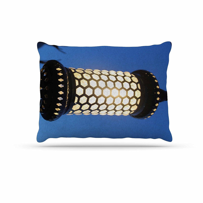 KESS InHouse Theresa Giolzetti The Light of The Roman Empire Black gold Dog Bed, 50  x 40
