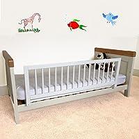 Safetots Wooden Bed Rail, White