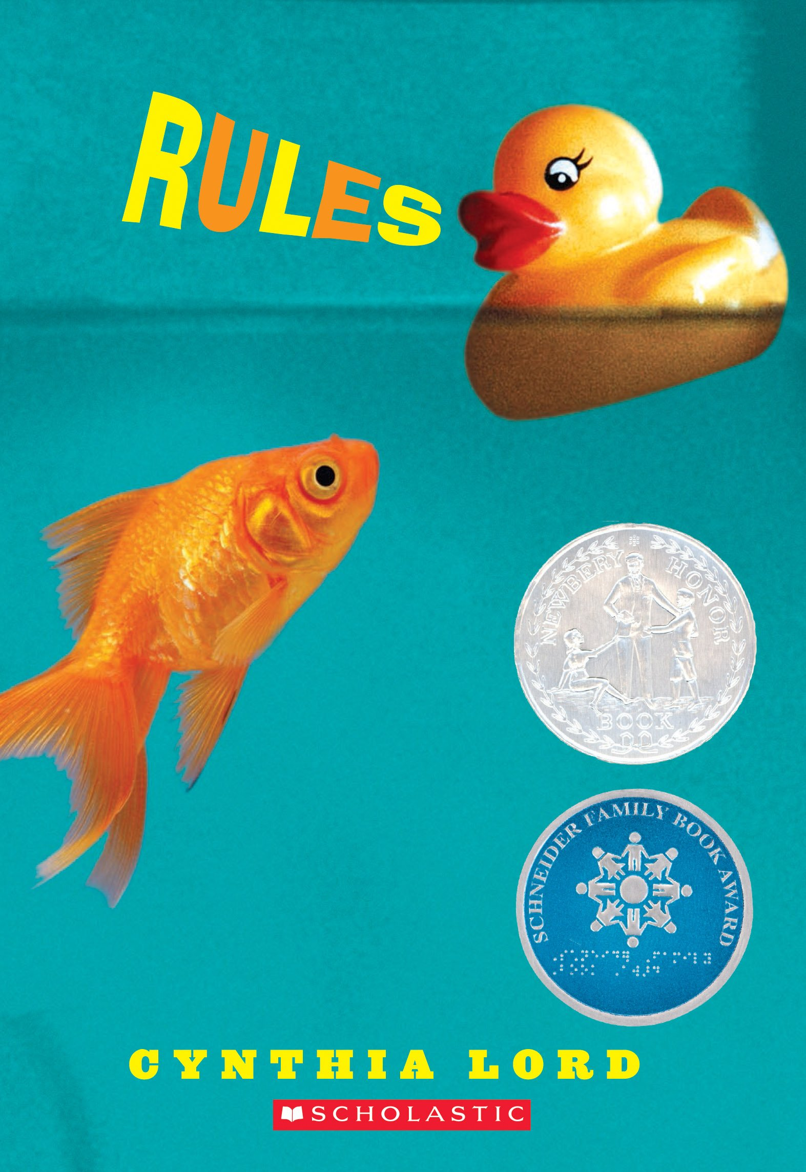 fish and rubber duck book cover