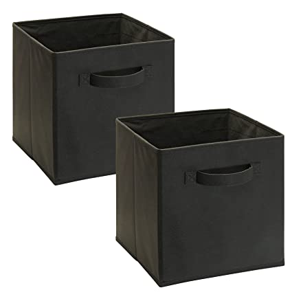 Awesome ClosetMaid 11517 Cubeicals Fabric Drawer, Charcoal Gray, 2 Pack