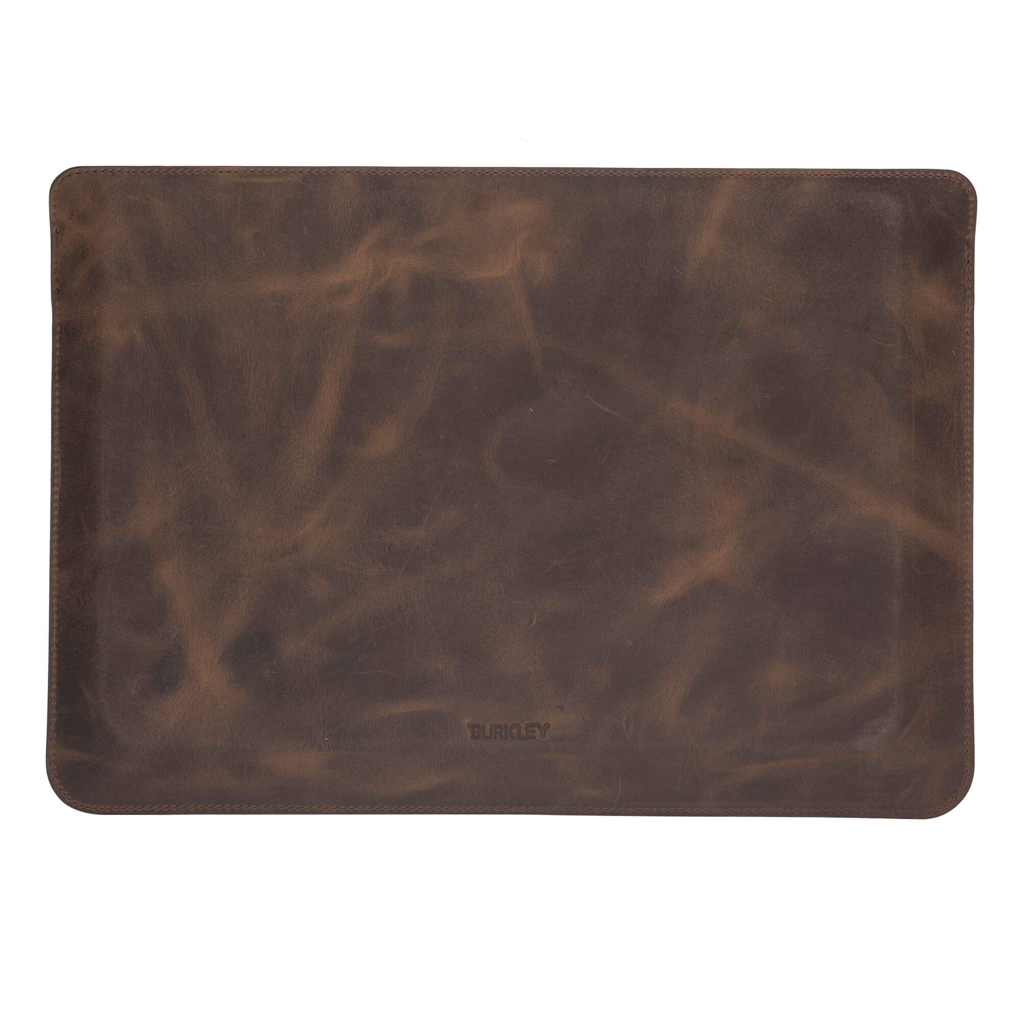 Burkley Case Compatible with MacBook Pro 15'' Burkley Leather Sleeve, Handcrafted and Full Grain Leather for MacBook Pro 15'' (Distressed Antique Coffee) by Burkley Case (Image #2)