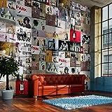 Fotomurales PURO ! Tres colores a elegir - Fotomurales realistas ! !Papel pintado tejido no tejido! !Un panel decorativo! !Fotomural! !Los cuadros para la pared en la dimensión XXL! 10 m ! Banksy f-A-0237-j-b
