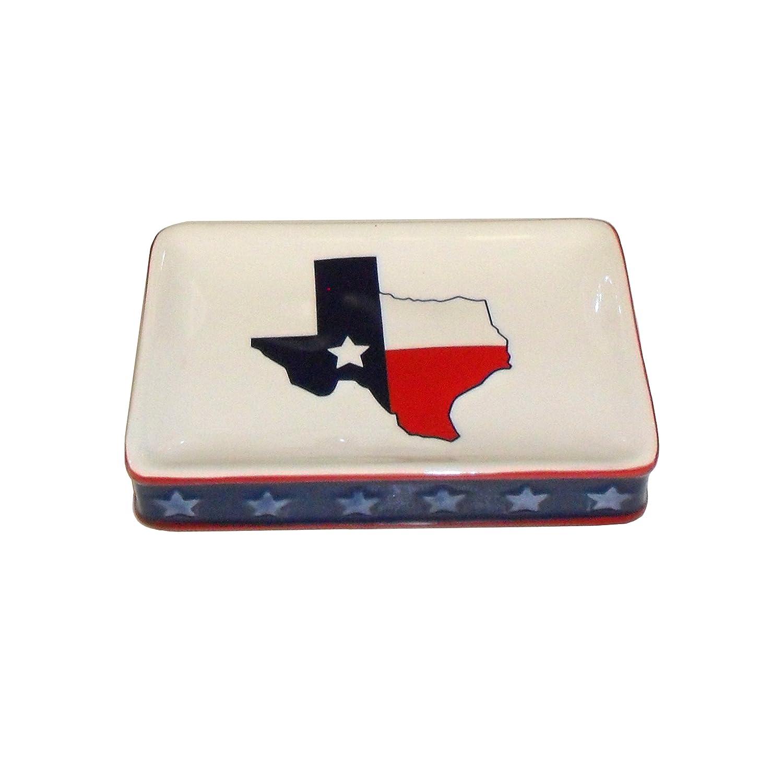 White M1068000210004 Saturday Knight Ltd Texas Stoneware Tumbler