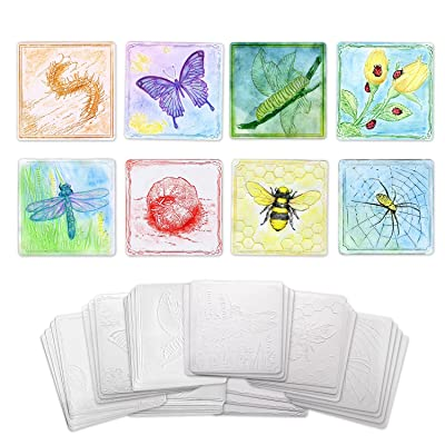 Creativity Street Insect Set Embossed Paper, 24-Pieces: Toys & Games