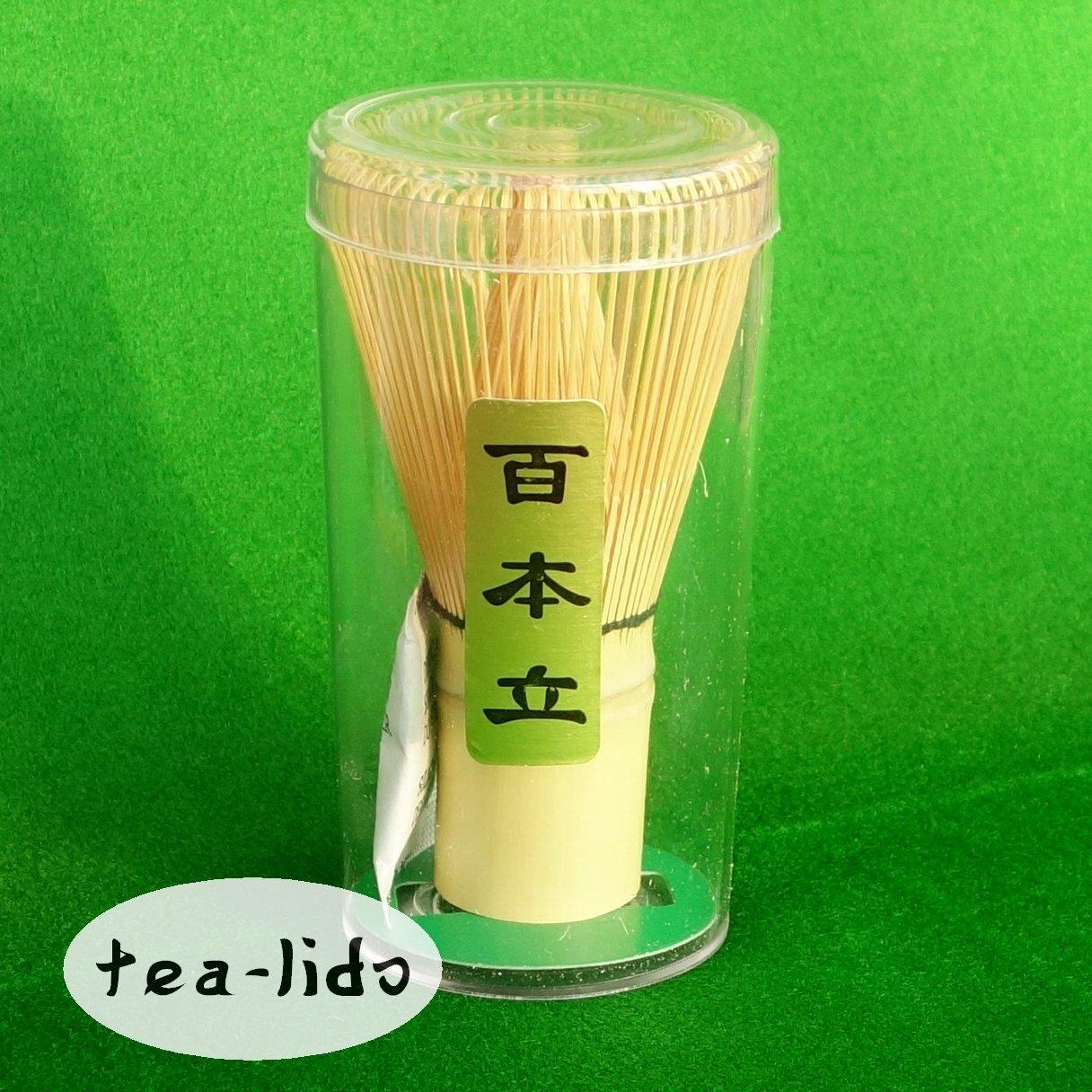 Bamboo Matcha Whisk, 100 Prong. For Matcha Green Tea Powder. Ceremony, Ceremonial, Premium, Handmade