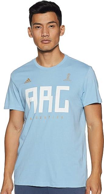 adidas Argentina MNS Camiseta, Hombre: Amazon.es: Ropa y accesorios