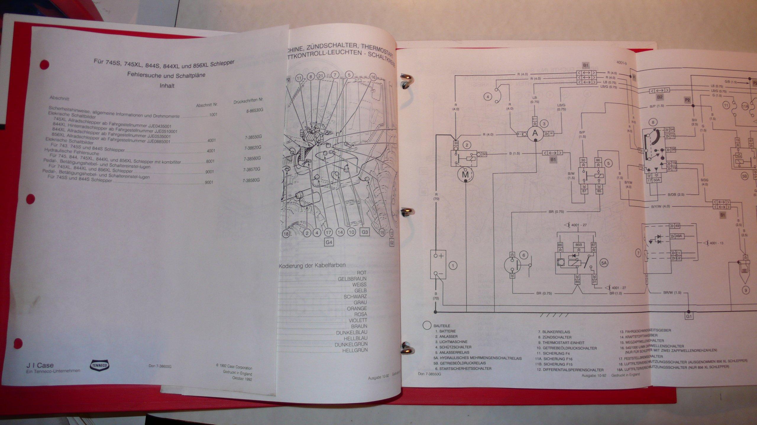 Case Schlepper 745S, 745XL, 844S, 844XL, 856XL – Fehlersuche und ...
