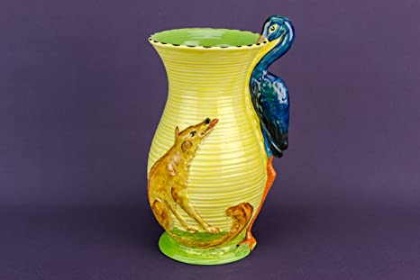 Lavish shoestring vaso di ceramica insolito burgess & leigh cicogna