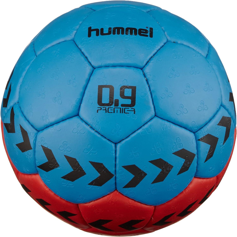 hummel 0,9 Premier - Balón de Balonmano Multicolor Red/Blue Talla ...