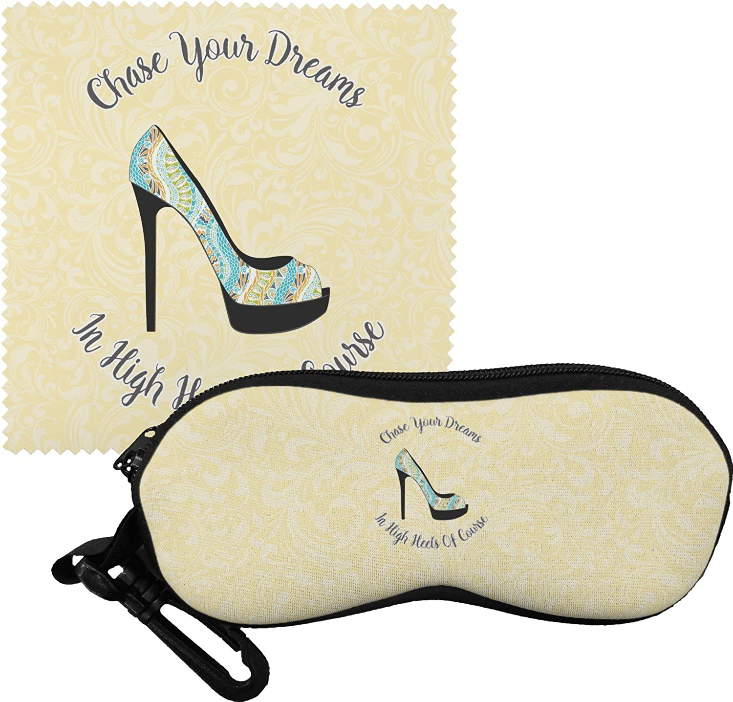 High Heels Eyeglass Case & Cloth