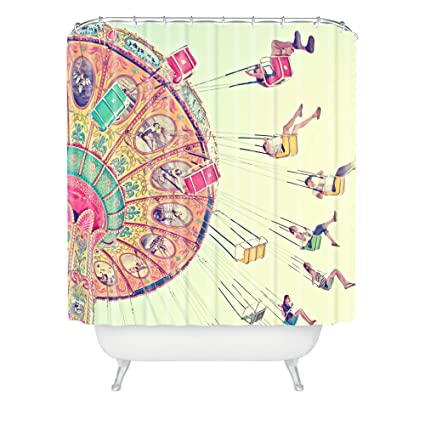 Deny Designs Shannon Clark Dizzying Heights Shower Curtain 69quot