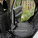 PetsNall Waterproof Pet Car SUV Seat Cover, Hammock.Large Size 75x58 Inch