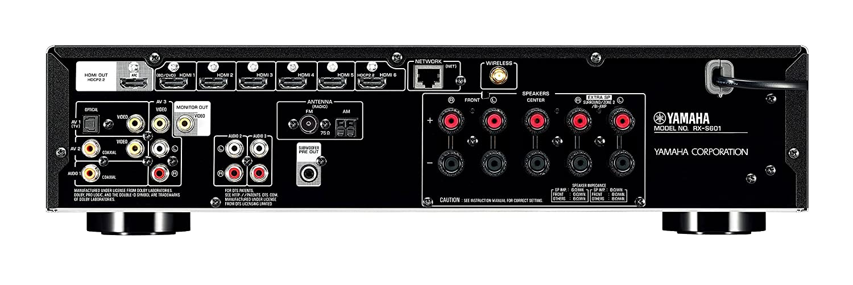 Slimline AV Receiver, Slimline AV Receiver Test, Slimline AV Receiver kaufen, Slim AV Receiver, kleiner AV Receiver, Yamaha RX-S601BL, Yamaha RX-S601BL Test, Yamaha RX-S601BL kaufen
