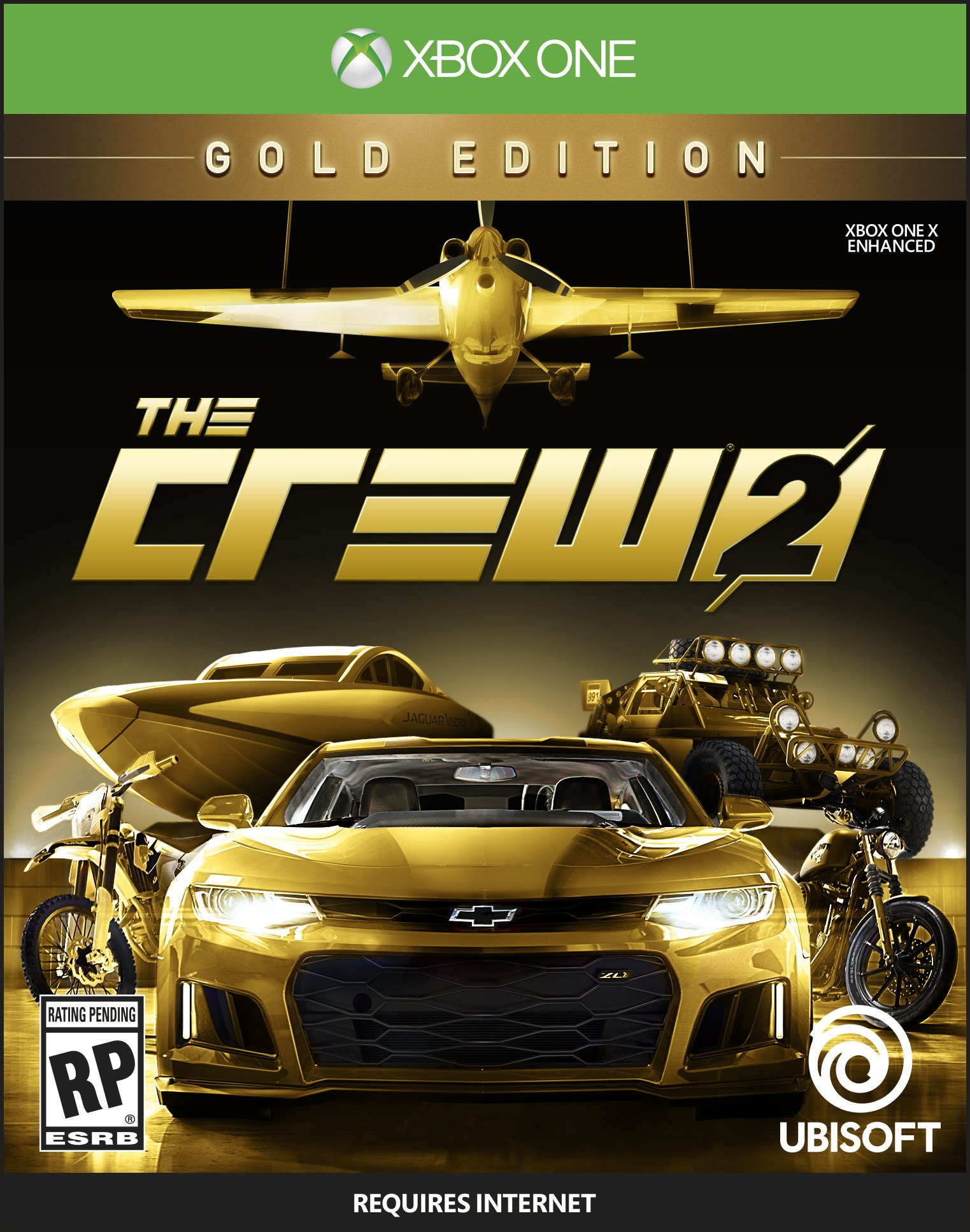The Crew 2 GOLD Edition - Xbox One [Digital Code] by Ubisoft (Image #1)