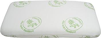 daydream Kissen Memory Foam (ohne Gel) 70x40x10 Bezug: Aloe Vera/Bambus Bettkissen, Viskose, weiß, 70 x 39 x 10 cm