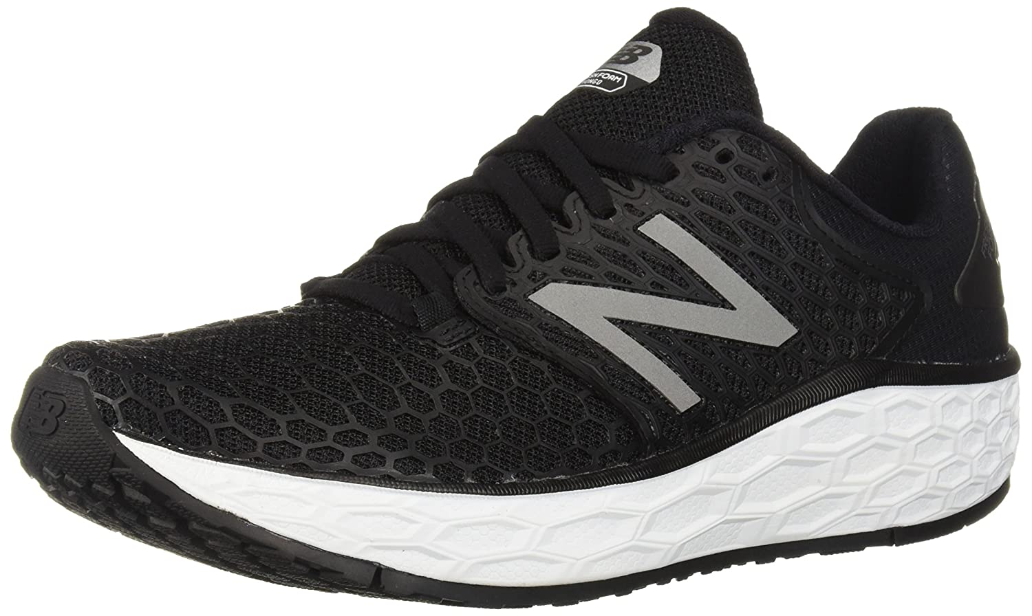 New Balance Women's Vongo V3 Fresh Foam Running Shoe B075R84D1N 8 D US|Black