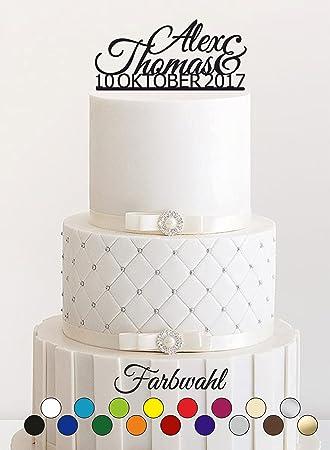 Cake Topper Tortenstecker Individuell Tortefigur Acryl
