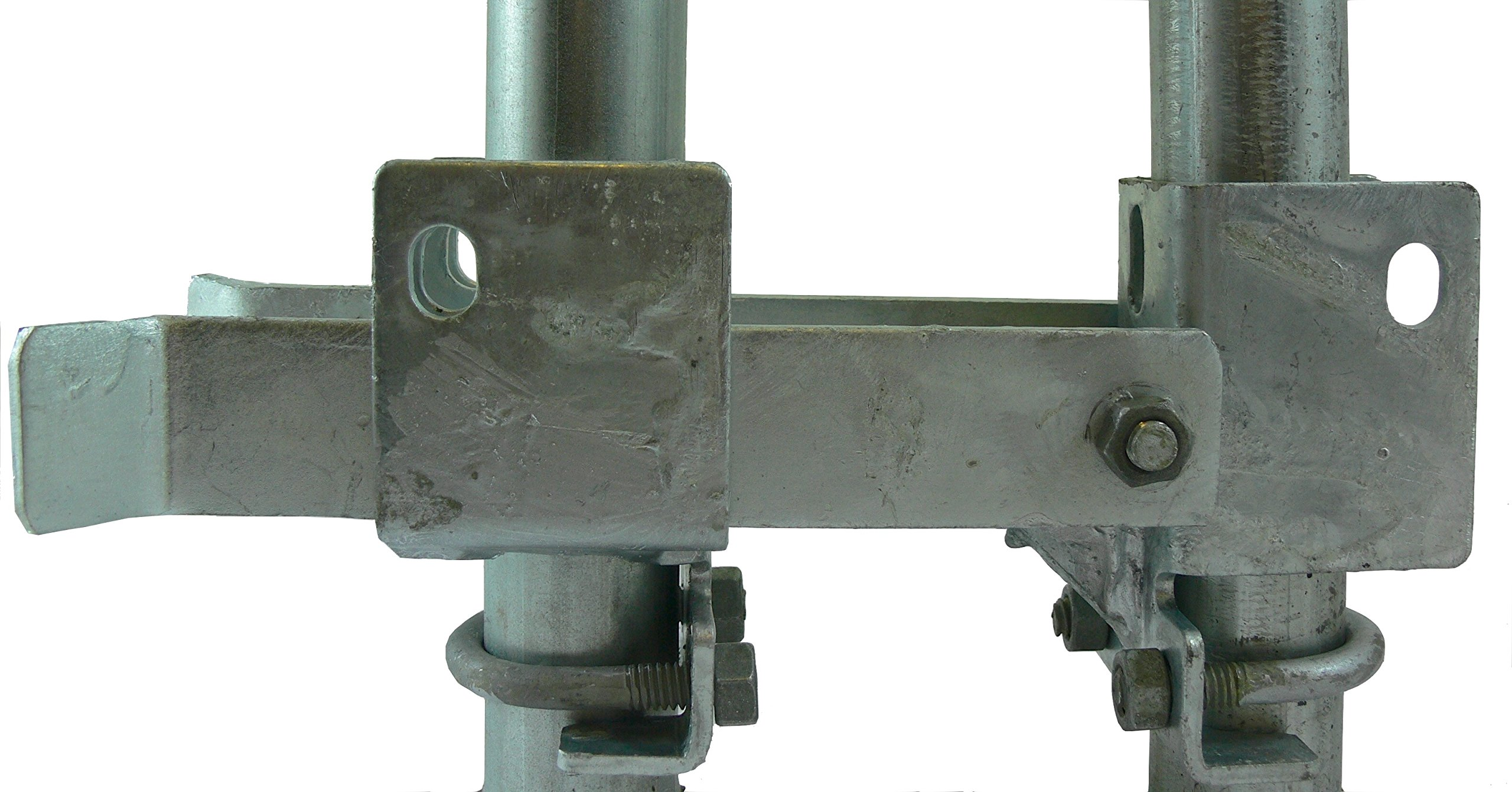 Residential Double Strong Arm Latch Chain Link Fence Gate