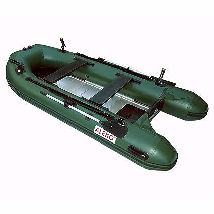 Amazon.com: Aleko btf380gr Pro Barco de pesca Raft 12.5 pies ...