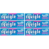Squigle Enamel Saver Toothpaste (Canker Sore Prevention & Treatment) Prevents Cavities, Perioral Dermatitis, Bad Breath…