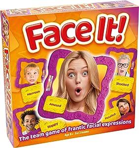 Drumond Park Face It | El Juego Familiar de Expresiones de adivinanzas, Juegos de Mesa para niños | Juegos de Fiesta adecuados para Adultos y niños de 8 9 10 11 12 años +: Amazon.es: Juguetes y juegos