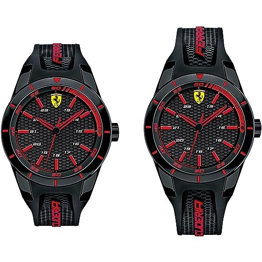Reloj solo tiempo para hombre Scuderia Ferrari redrev deportivo Cod. fer0870017: Amazon.es: Relojes