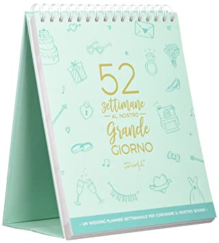 Mr. Wonderful woa08968it Calendario boda: Amazon.es: Oficina ...