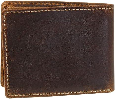 Harrys-Collection - Cartera para Hombre Marrón marrón: Amazon.es: Equipaje