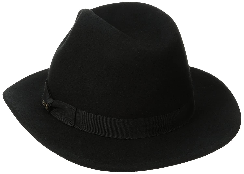 ea9fe2c7599 SCALA Classico Men s Crushable Felt Safari Hat at Amazon Men s Clothing  store  Fedoras