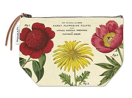 Cavallini Botanica - Estuche de maquillaje, diseño de flores ...