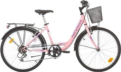 """Bicicleta de montaña para niña, 24 pulgadas, """"Nevada"""" – 6 ..."""
