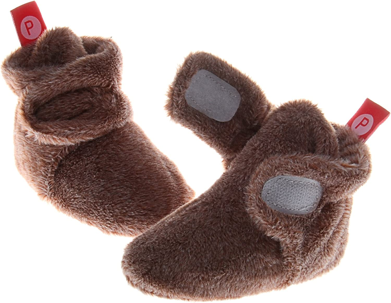Pidoli Unisex-Baby Newborn Soft Fleece Bootie Infant//toddler