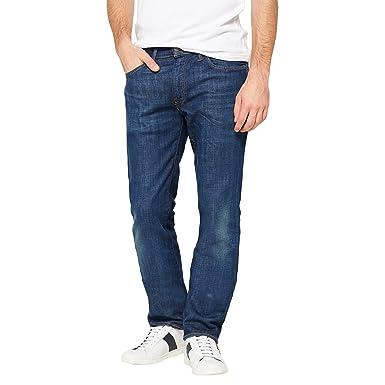 9dc10c2c431fb Levi Strauss Sid Lightweight Stretch 511 Slim Leg Jean - 21-86 38 32  Amazon .co.uk  Clothing