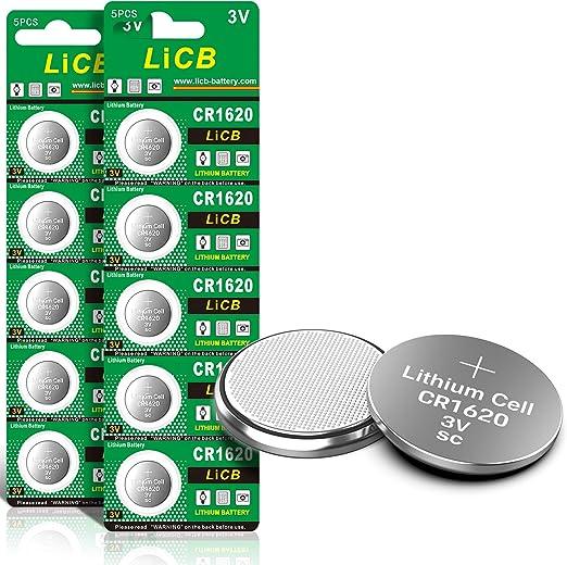 1er Pack Renata Knopfzellenbatterie 1620 CR1620 3V