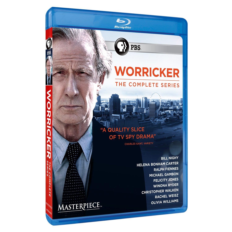 Blu-ray : Masterpiece: Worricker: The Complete Series (Blu-ray)