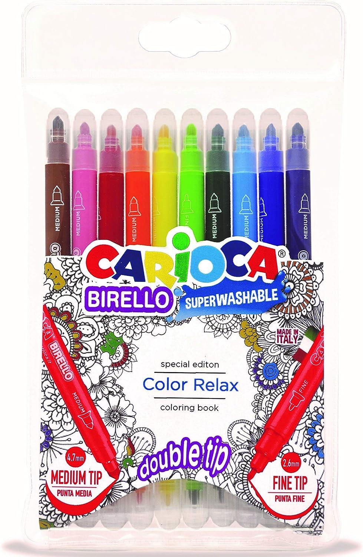 Carioca- Birello rotuladores, Multicolor (41428): Amazon.es: Juguetes y juegos