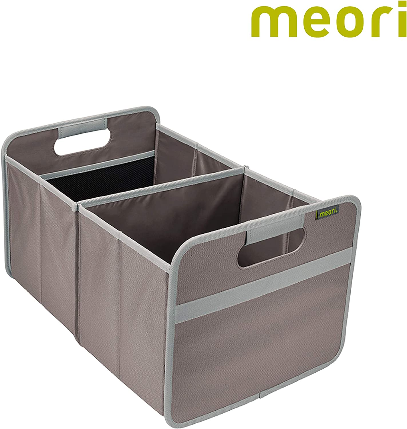 meori Foldable Classic Large Blue 1-Pack Collapsible Box to Organize Store and Carry Anything and Everything Marine//Flowers