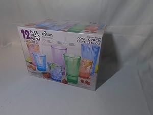 Tritan from Eastman 12-Piece Unbreakable Drinkware Set