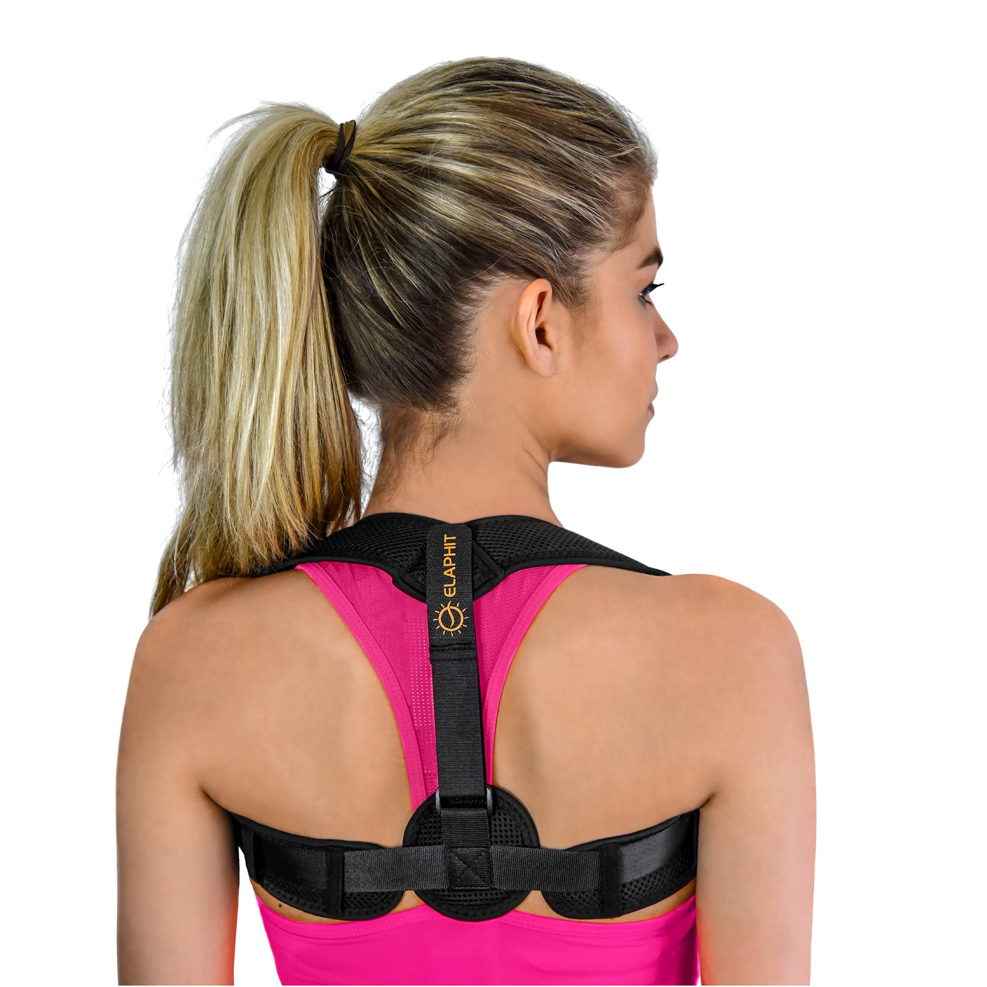Posture Corrector for Men and Women, Imperceptible Back Brace Prevents Slouching, Helps Relieve Back Pain and Supports Correct Upright Posture